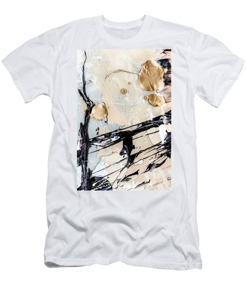 Abstract Original Painting Untitled Twelve Men's T-Shirt (Athletic Fit)
