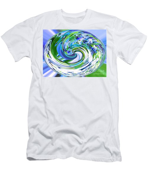 Abstract Reflections Digital Art #3 Men's T-Shirt (Athletic Fit)