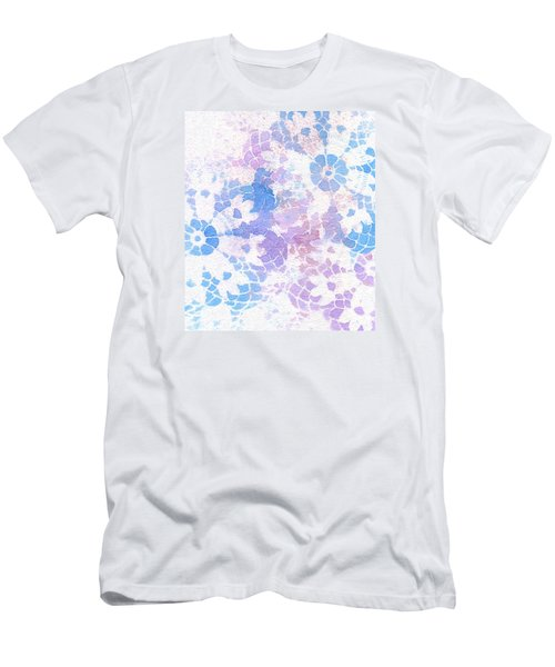 Abstract Vintage Lace Men's T-Shirt (Athletic Fit)