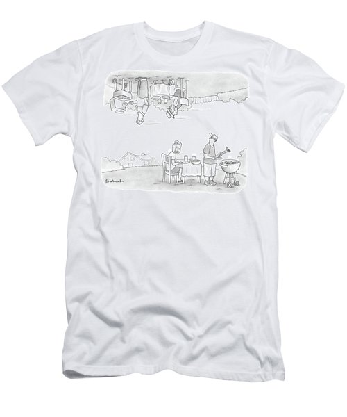 Add Your Own Caption Week #292 Men's T-Shirt (Athletic Fit)