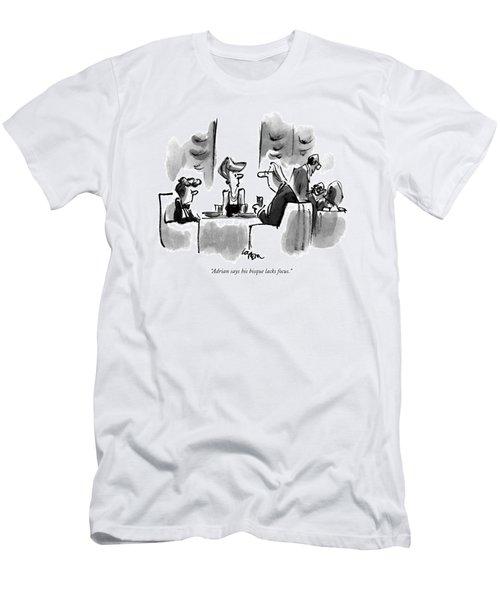 Adrian Says His Bisque Lacks Focus Men's T-Shirt (Athletic Fit)