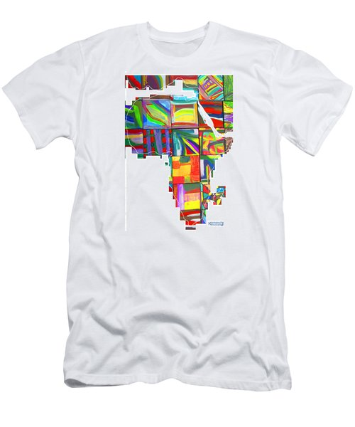 African Brightness Men's T-Shirt (Athletic Fit)