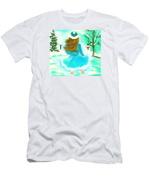 Afternoon Skating Men's T-Shirt (Slim Fit) by Lori  Lovetere