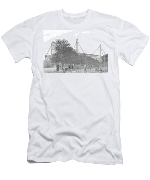 Alamo Dome Men's T-Shirt (Athletic Fit)
