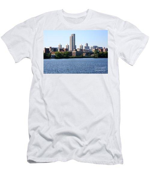 Albany Skyline Men's T-Shirt (Athletic Fit)