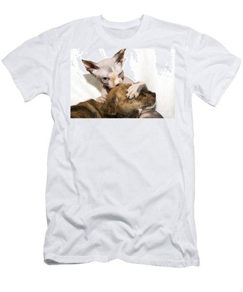 Alien Abduction Men's T-Shirt (Athletic Fit)