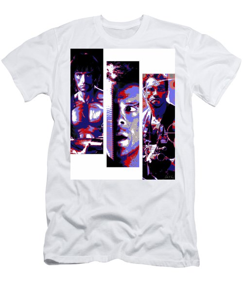 All-american 80's Action Movies Men's T-Shirt (Athletic Fit)