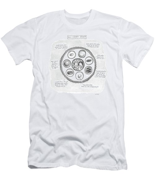 All-candy Seder Men's T-Shirt (Athletic Fit)