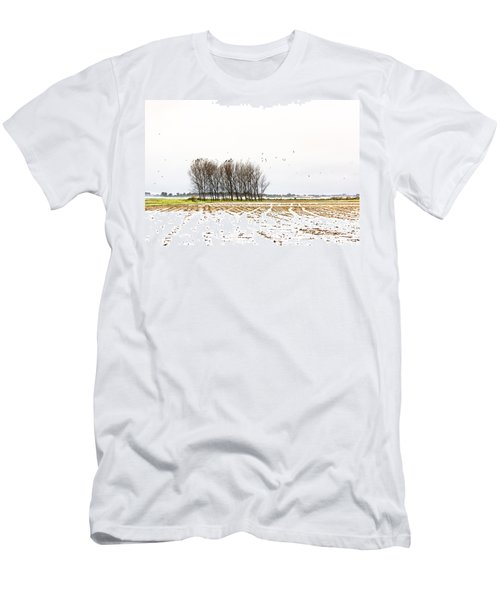 Almost Winter Men's T-Shirt (Athletic Fit)