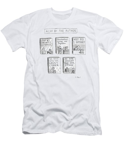 'also By The Author' Men's T-Shirt (Athletic Fit)