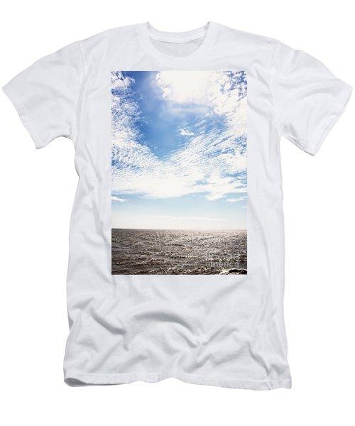 Altocumulus At Sea Men's T-Shirt (Athletic Fit)