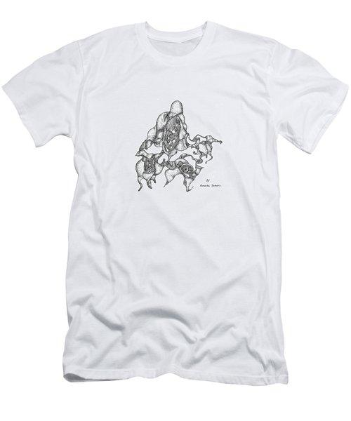 Amoeba Dancers Men's T-Shirt (Athletic Fit)