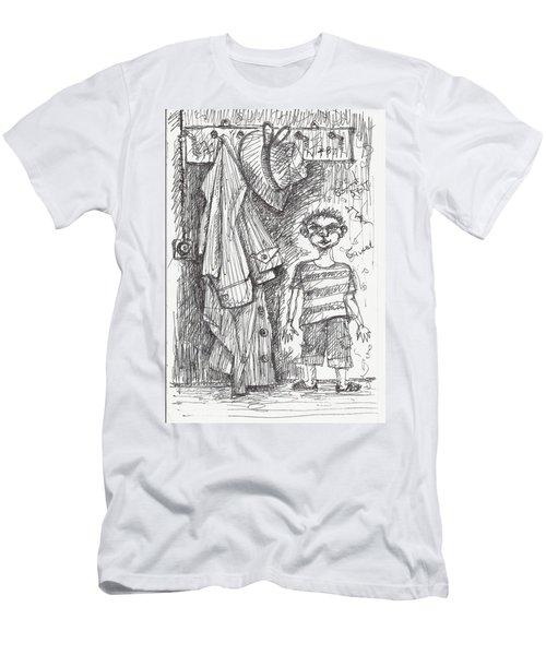 An Apartment Goblin Men's T-Shirt (Slim Fit) by Maxim Komissarchik