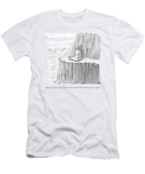 An Old Man Gives Metaphysical Advice Men's T-Shirt (Athletic Fit)