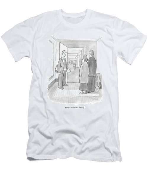 And It's Close To The Subway Men's T-Shirt (Athletic Fit)
