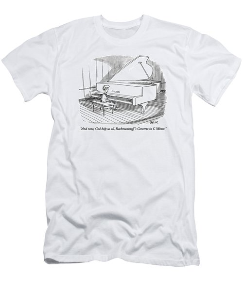 And Now, God Help Us All, Rachmaninoff's Concerto Men's T-Shirt (Athletic Fit)