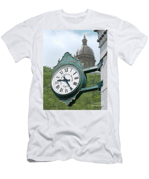 And The Time Is Men's T-Shirt (Athletic Fit)