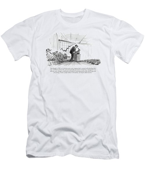 And Though In 1969 Men's T-Shirt (Athletic Fit)