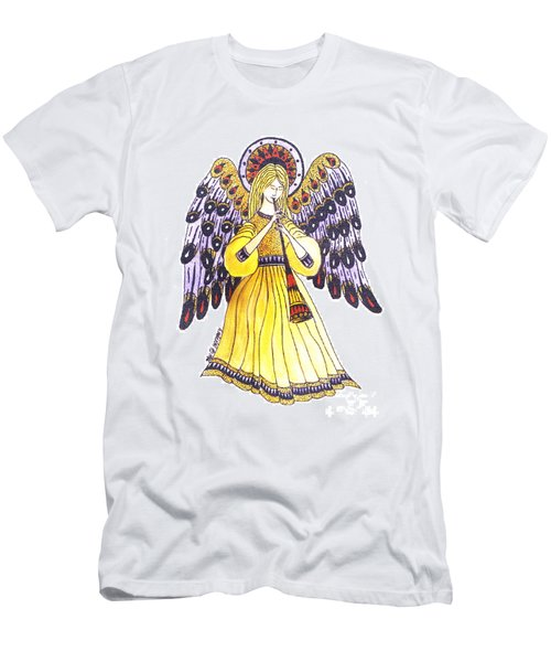 Angel In Horns Section Men's T-Shirt (Athletic Fit)