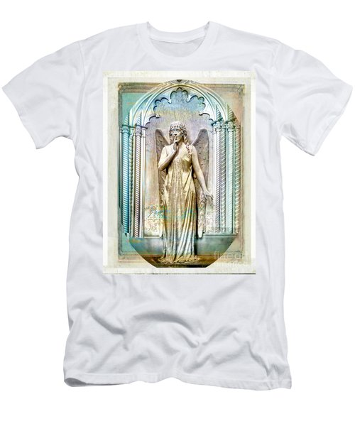 Angel Of Silence.genoa Men's T-Shirt (Athletic Fit)