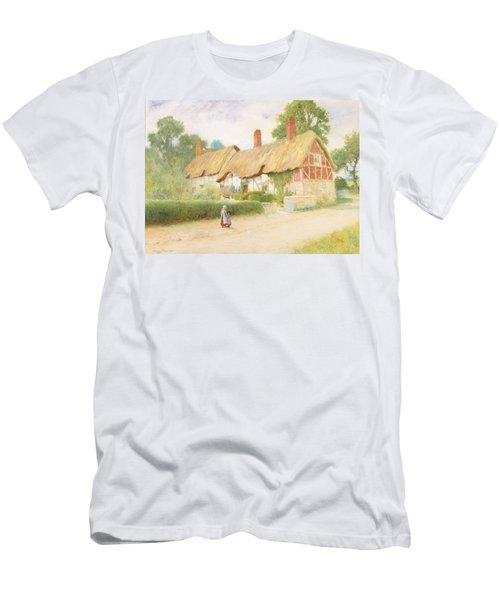 Ann Hathaway's Cottage Men's T-Shirt (Athletic Fit)