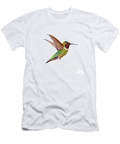 Anna Hummingbird Men's T-Shirt (Athletic Fit)