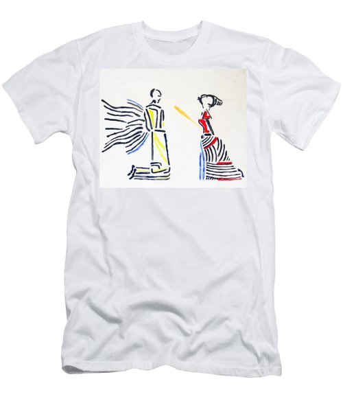 Annunciation Men's T-Shirt (Athletic Fit)