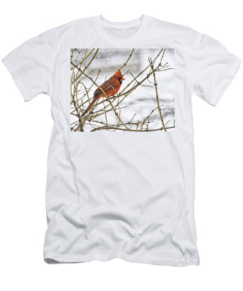 Another Snowy Day Men's T-Shirt (Athletic Fit)