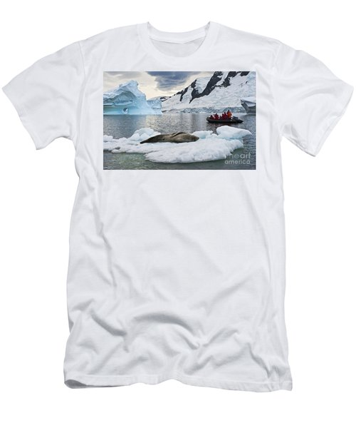 Antarctic Serenity... Men's T-Shirt (Athletic Fit)