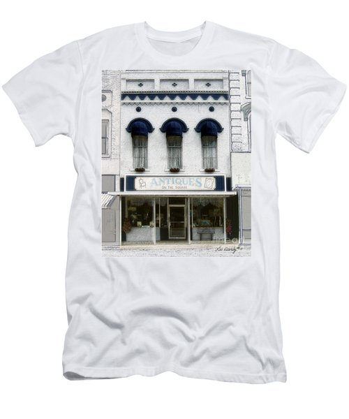 Antiques On The Square Men's T-Shirt (Athletic Fit)