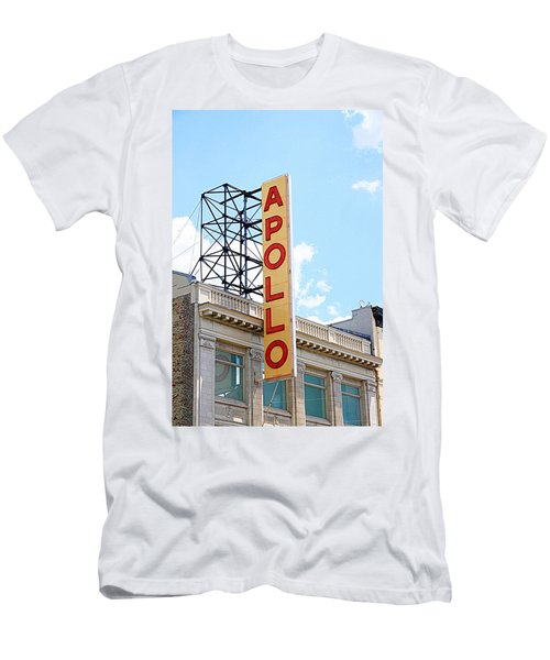 Apollo Theater Sign Men's T-Shirt (Athletic Fit)