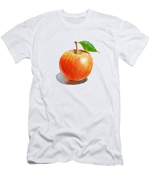 Red Apple Men's T-Shirt (Athletic Fit)