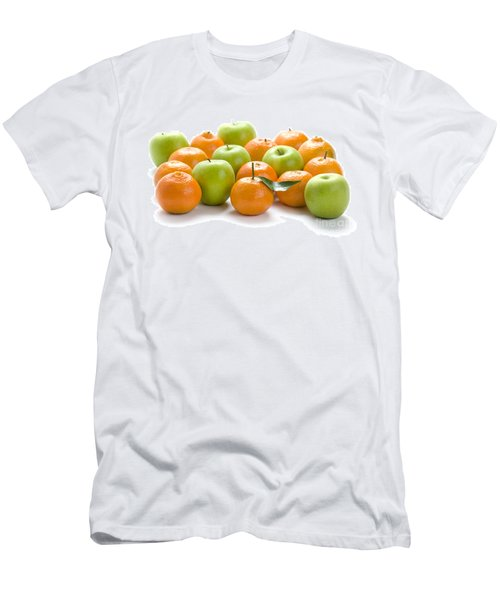Men's T-Shirt (Slim Fit) featuring the photograph Apples And Oranges by Lee Avison