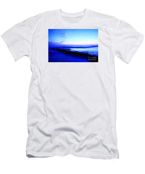 Men's T-Shirt (Slim Fit) featuring the photograph Swamis Aqua Reef  by John F Tsumas