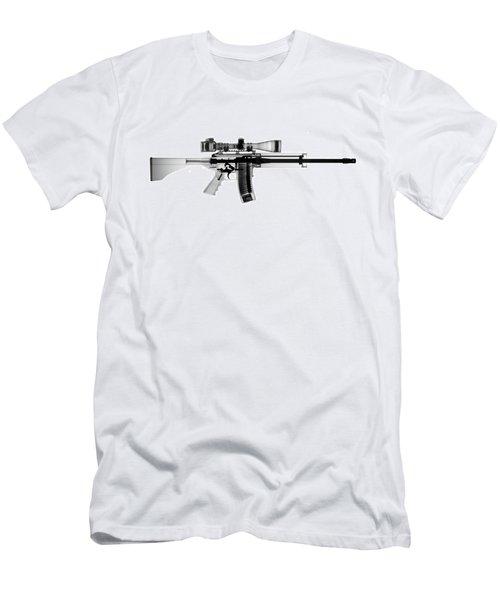 Ar 15 Pro Ordnance Carbon 15 X-ray Photograph Men's T-Shirt (Athletic Fit)