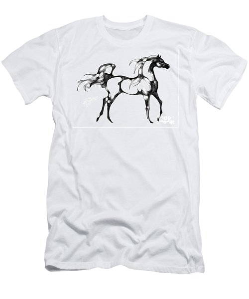 Arabian Horse Overlook Men's T-Shirt (Athletic Fit)