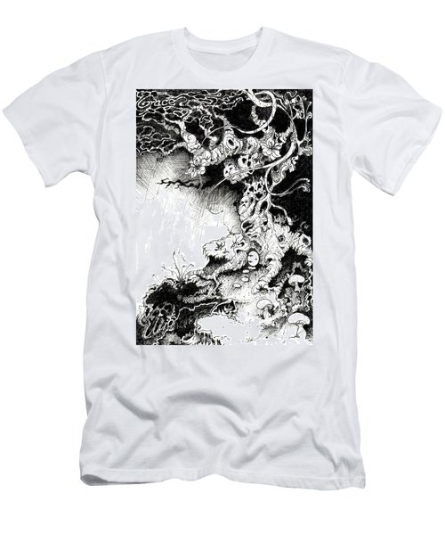 Arbol Men's T-Shirt (Slim Fit) by Julio Lopez