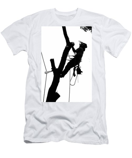 Arborist At Work 2 Men's T-Shirt (Athletic Fit)