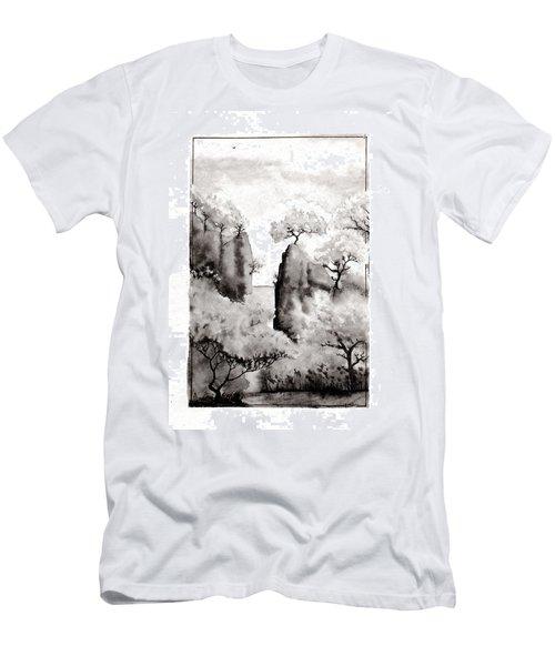 Arbres Separes Men's T-Shirt (Athletic Fit)