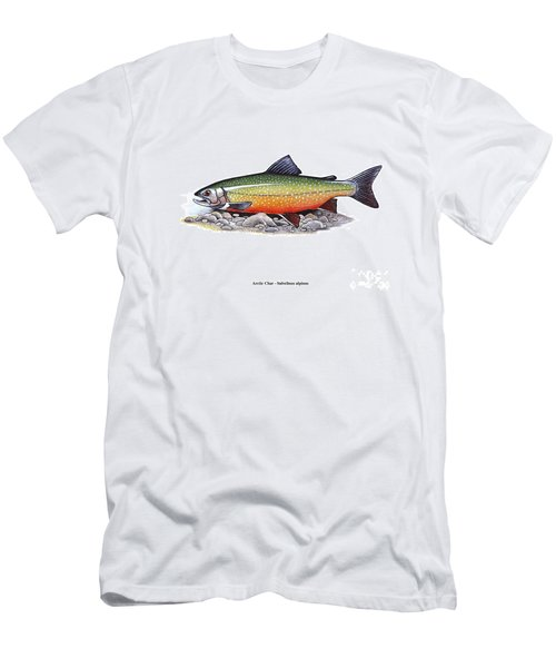 Arctic Char Male Men's T-Shirt (Athletic Fit)