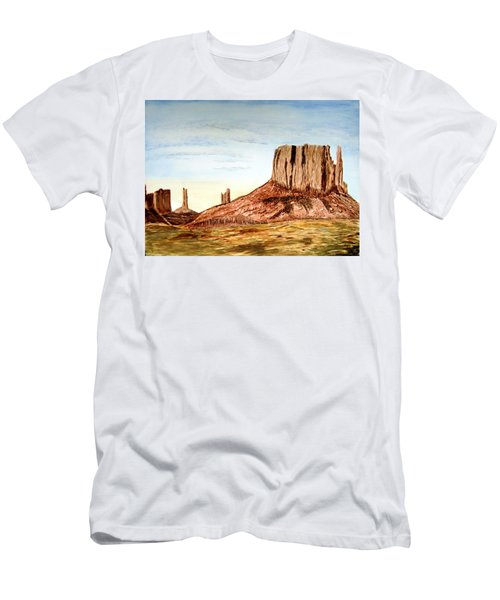 Arizona Monuments 2 Men's T-Shirt (Athletic Fit)