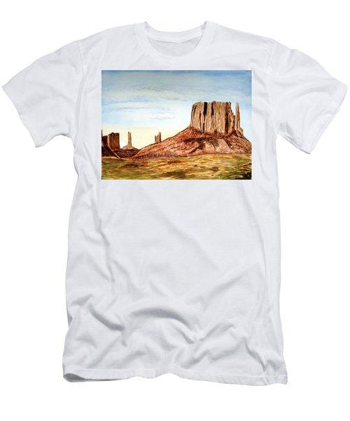 Arizona Monuments 2 Men's T-Shirt (Slim Fit) by Maris Sherwood