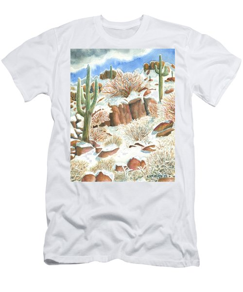 Arizona The Christmas Card Men's T-Shirt (Athletic Fit)