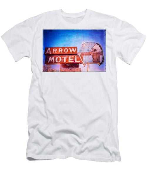 Arrow Motel Men's T-Shirt (Athletic Fit)