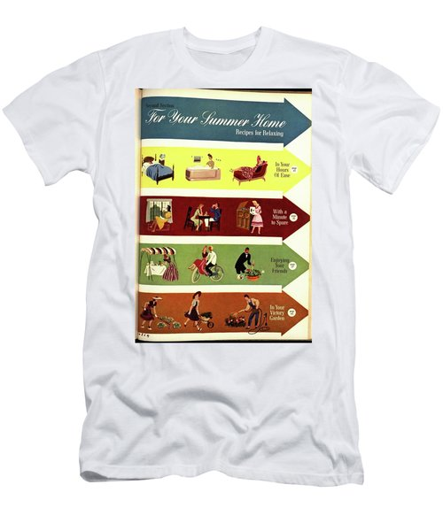 Arrows And Illustrations Men's T-Shirt (Athletic Fit)
