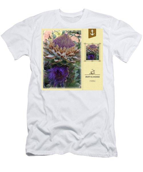 Artichoke In The Herb Garden Men's T-Shirt (Athletic Fit)