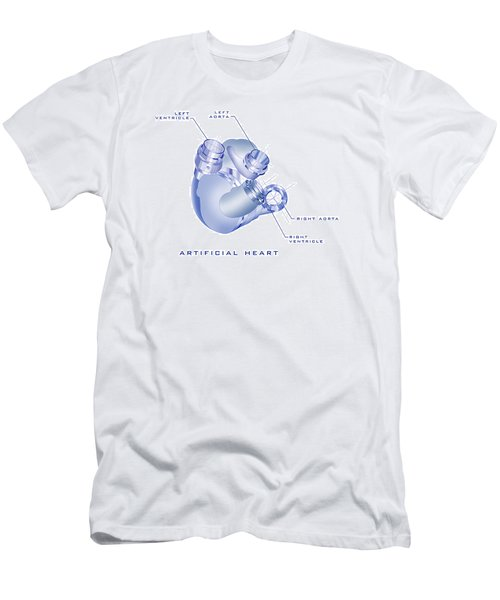 Artificial Heart Men's T-Shirt (Athletic Fit)