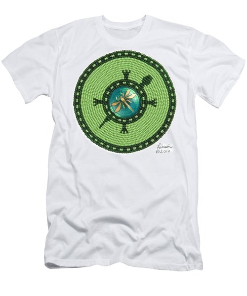 Ashlee's Dragonfly Turtle Men's T-Shirt (Athletic Fit)