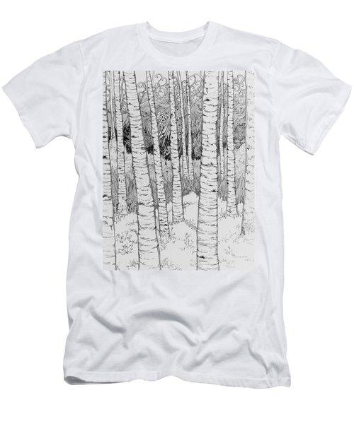 Aspen Forest Men's T-Shirt (Athletic Fit)