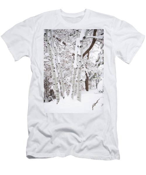 Aspen Snow Men's T-Shirt (Athletic Fit)